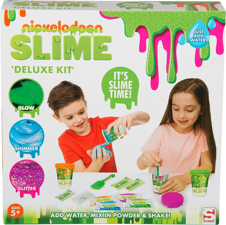 Nickelodeon SLM-3330 Slime - Juego de Accesorios para Manualidades, Multicolor