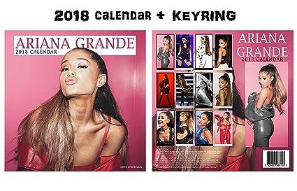 Ariana Grande calendario de pared cuadrada 2018 + Ariana ...