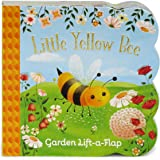 Little Yellow Bee: Lift-a-Flap Children's Board Book (Babies Love)