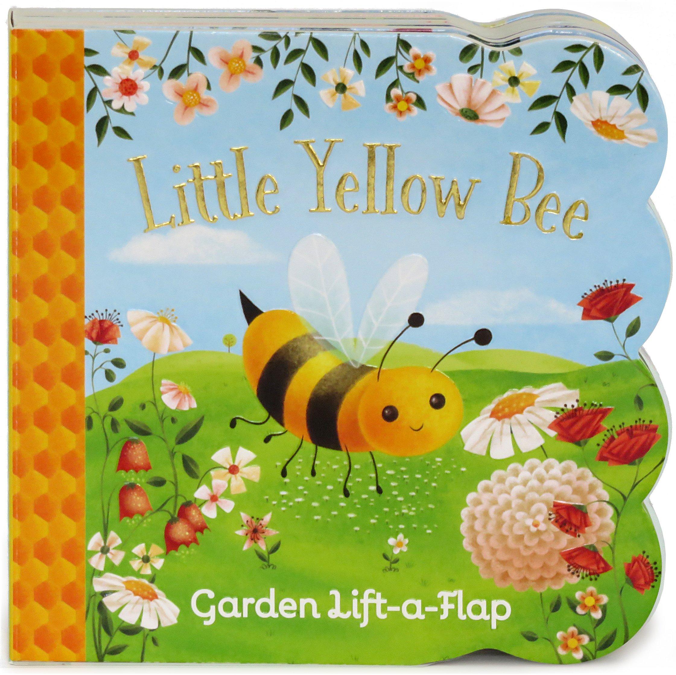 Little Yellow Bee: Lift-a-Flap Children's Board Book (Babies Love)
