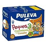 Puleva Leche Infantil Peques 3 Crecimiento con Omega 3 y Cereales - Pack 6 x 1 L - Total: 6 L