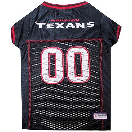 sports shoes 39574 58b22 Amazon.com : NFL HOUSTON TEXANS DOG Jersey, X-Large : Sports ...