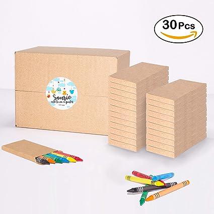 Mega Pack de 180 Ceras para Colorear en 30 sets | Regalo ...