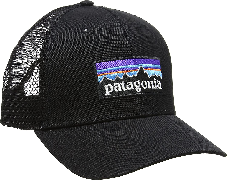 Patagonia Mütze P6 Trucker Hat Gorra, Hombre, Negro-Negro, Talla ...