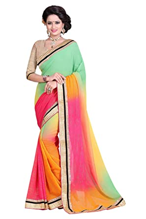 Designer Wedding Wear Saree Sarees available at Amazon for Rs.1499