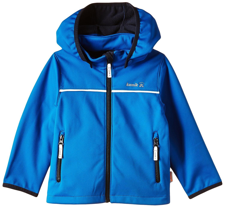 Kamik Softshelljacke - Soft Shell para niñ o, Color Azul, Talla de: 98 VK8848 VK8848/KSG6222_SKY-98