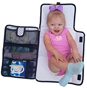 Best Travel Diaper Changing Pad - Luxury All in One Travel Diaper Changing Pad