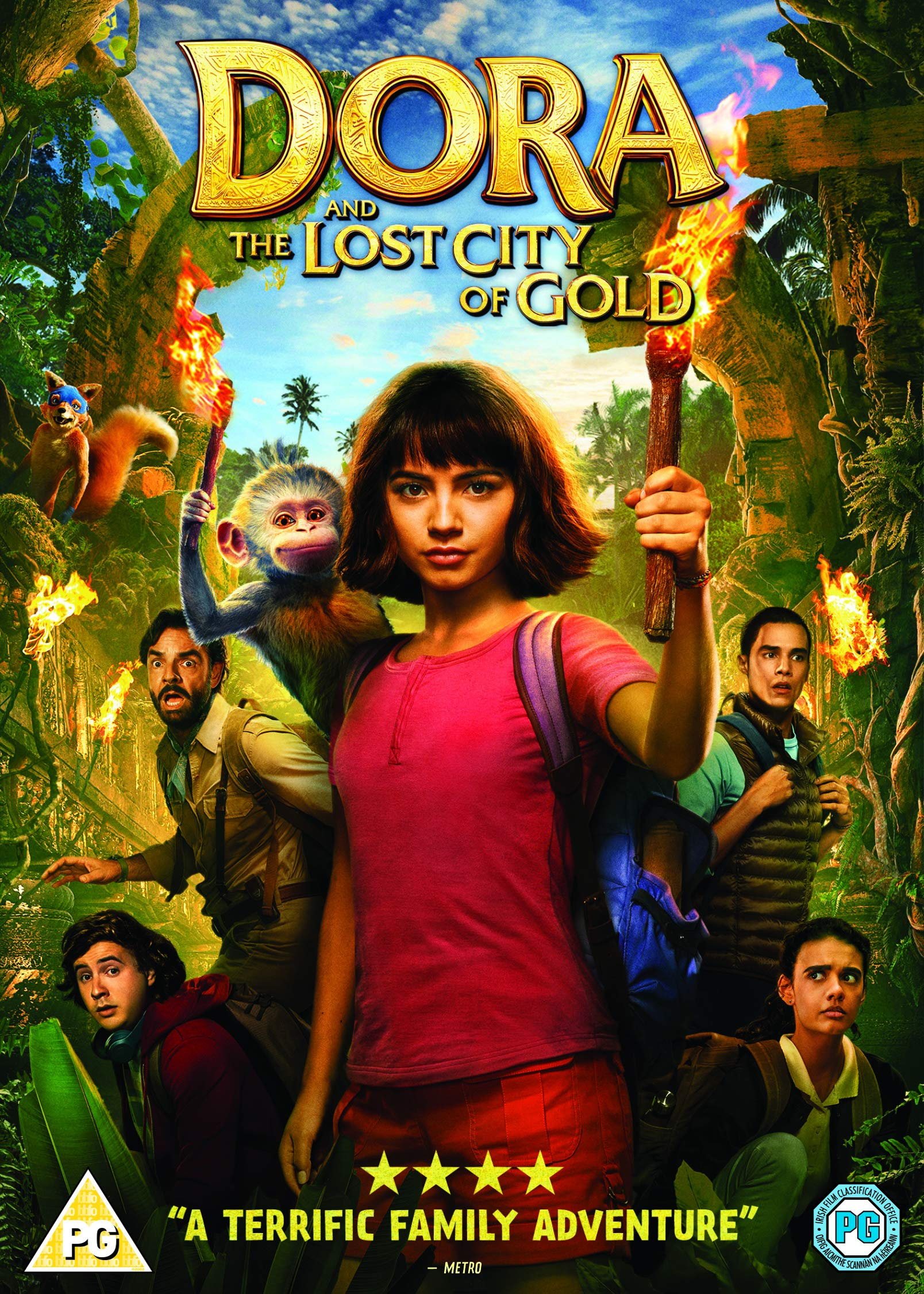 Dora And The Lost City of Gold - Dora The Explorer [The Movie] (DVD) [2019]