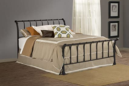 4f42be1aac88 Image Unavailable. Image not available for. Color: Hillsdale Furniture  Janis Bed Set - Queen - Rails ...