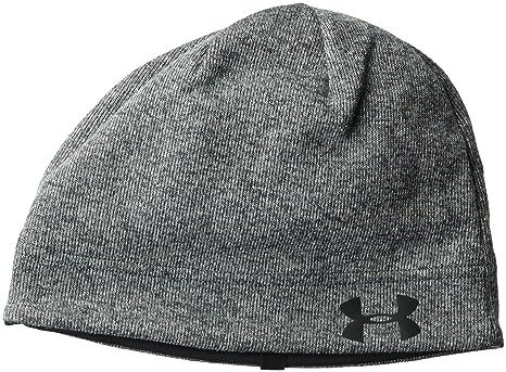Amazon.com  Under Armour Men s Sweater Fleece Beanie e70c6cf20ad