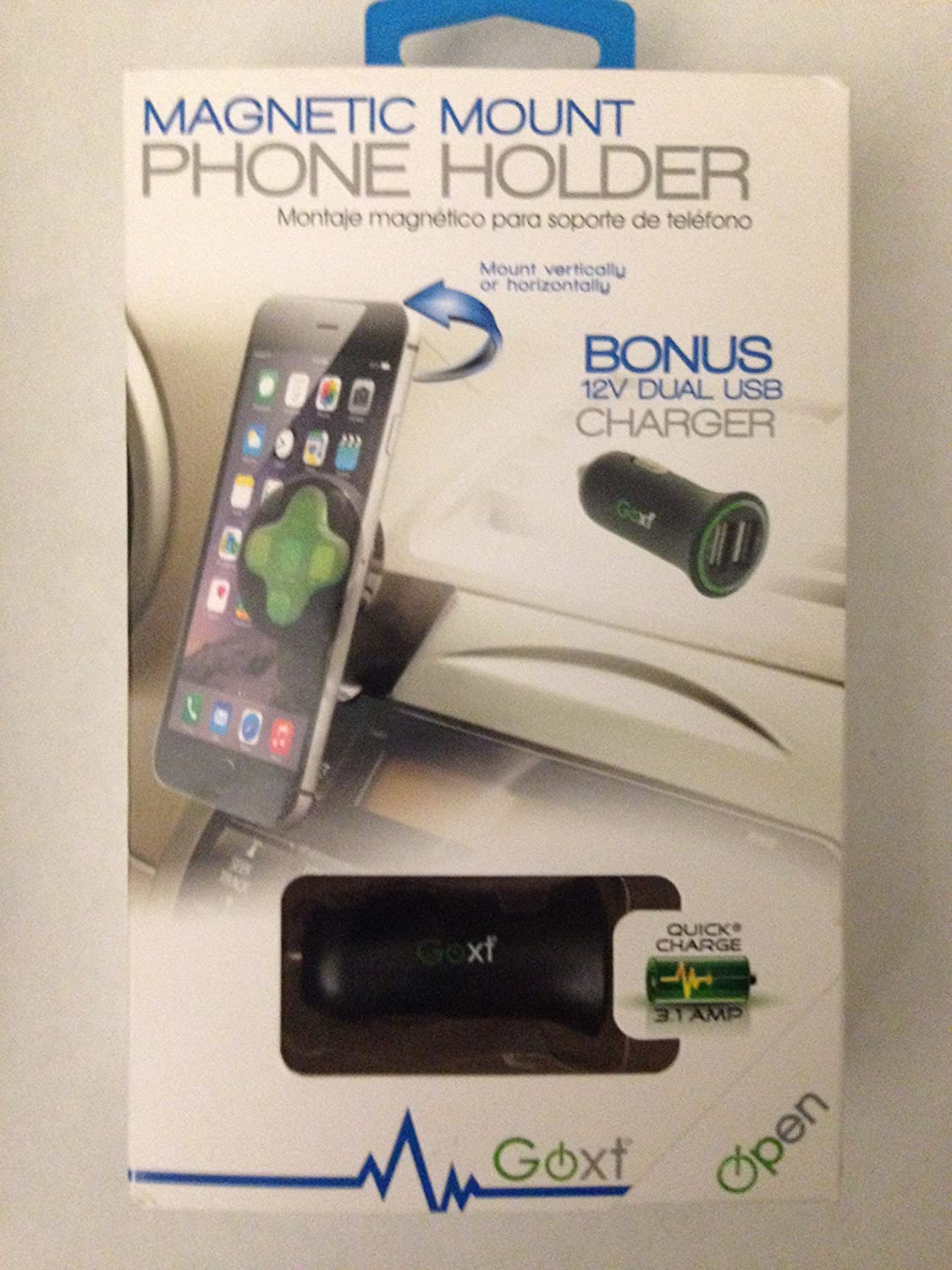 Goxt Magnetic Mount Phone Holder Custom Accessories Inc 4353179769