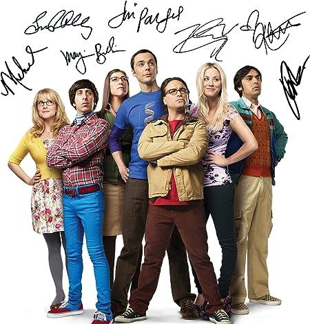 The Big Bang Theory #1 | Foto de Laboratorio, reimpresión de Firma | Tamaño de 10x8 para Marcos de 10x8 Pulgadas | Calidad de Laboratorio | Exhibición de la Foto | Regalo Presente Coleccionable: Amazon.es: Hogar