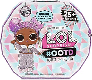 L.O.L. Surprise #Ootd (Outfit of The Day) Winter Disco 25+ Surprises