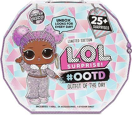 Amazon.com: L.O.L. Surprise Winter Disco 25+ Surprises: Toys & Games