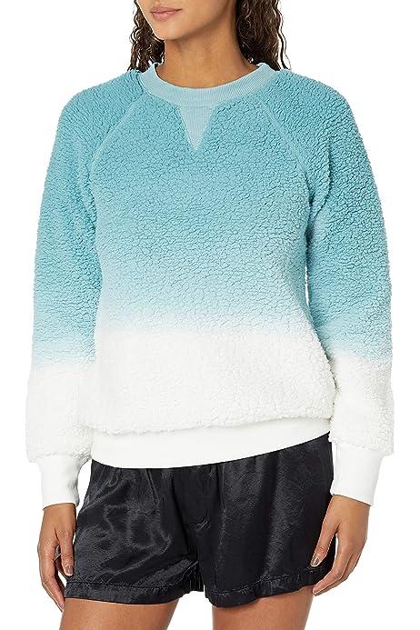 PJ Salvage Womens Loungewear Snow Dot Long Sleeve Top