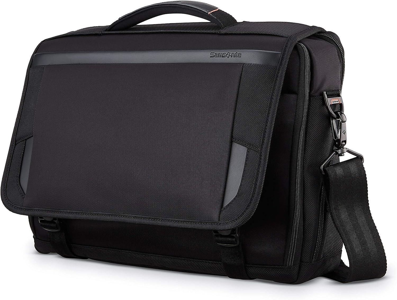 Samsonite Pro Slim Messenger, Black, 15.6-Inch