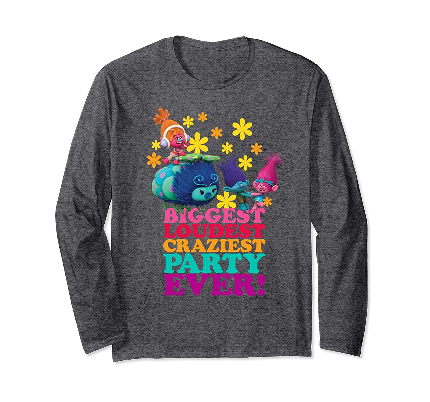 7485afe131 DreamWorks' Trolls Character Party Long Sleeved T-Shirt-ah my shirt one gift