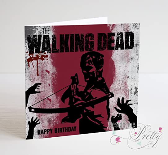 The Walking Dead Daryl Birthday Card Amazon Handmade