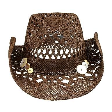 Brown Boho Hip Cowgirl Hat 302e5097497