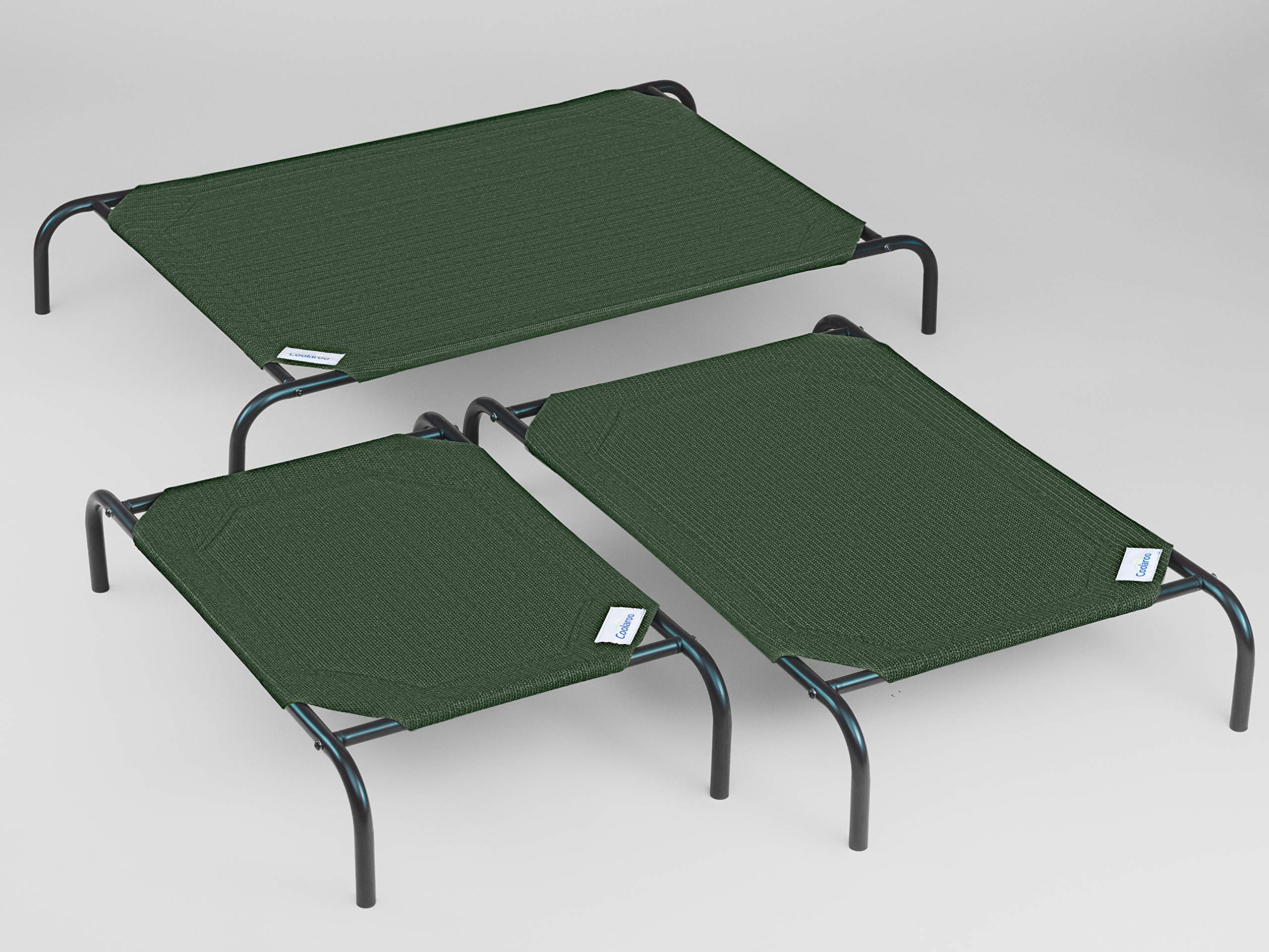 Coolaroo Replacement Cover, The Original Elevated Pet Bed by Coolaroo, Large, Brunswick Green by Coolaroo