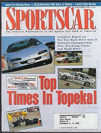 Scca Sports Car Reno Pro Michelin Rally Ojibwe Topeka 11 1996 At