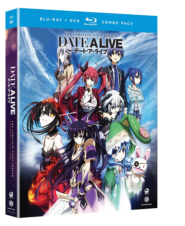 Amazon com: Date a Live: Season 1 (Blu-ray/DVD Combo