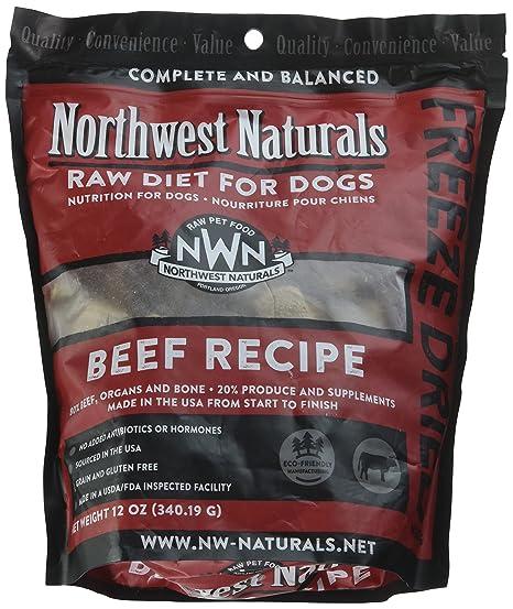 Northwest Naturals Freeze Dried Raw Dog Food Nuggets 12 Oz