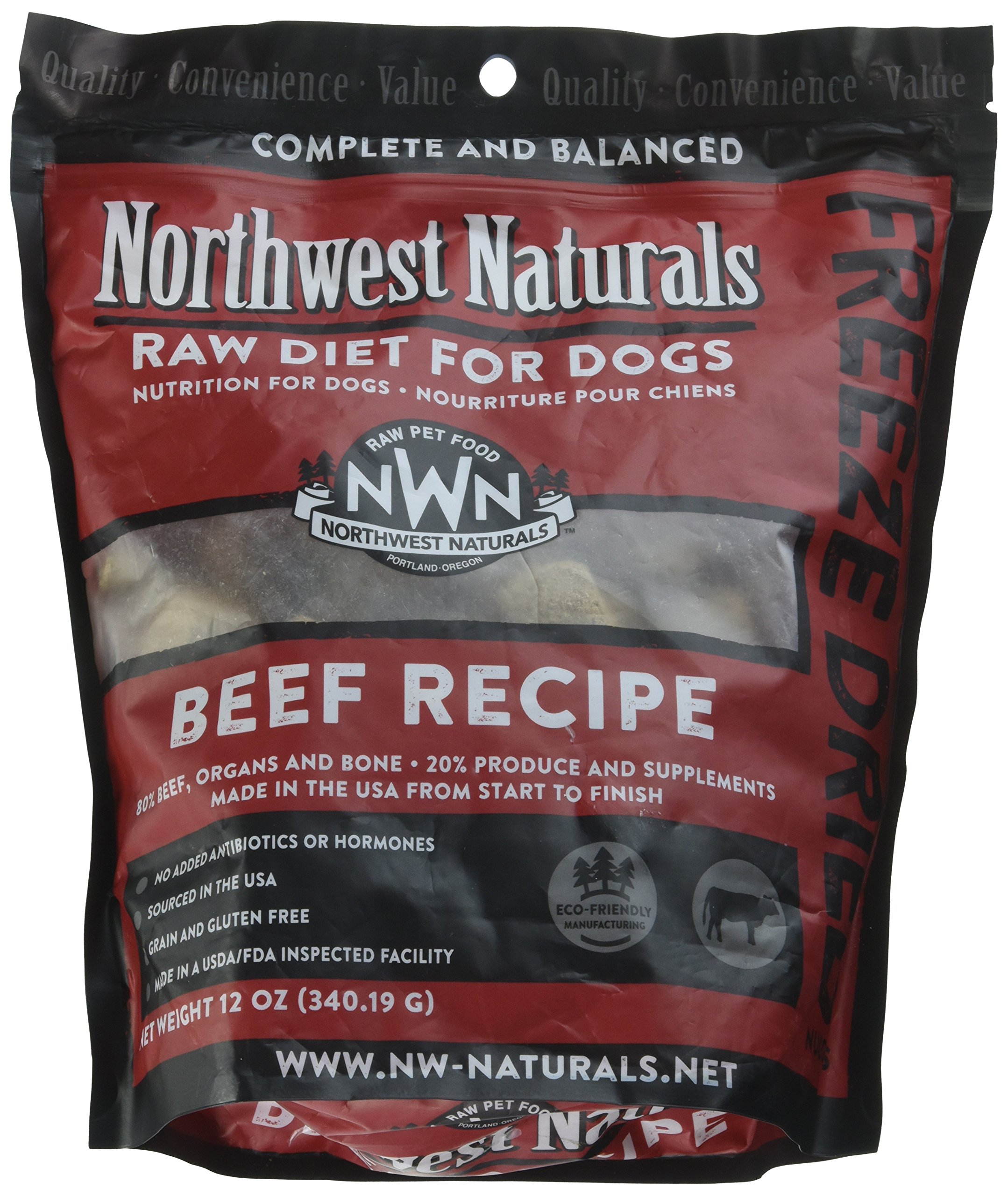 Northwest Naturals Raw Rewards Freeze Dried Nuggets - Dinner for Dogs (Beef)