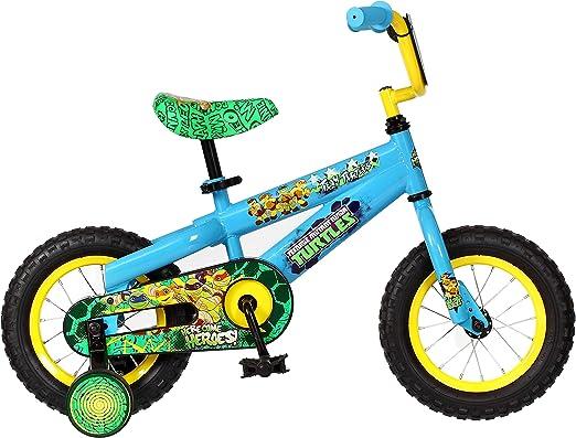 Amazon.com: Bicicleta para niño de las Tortugas Ninja ...