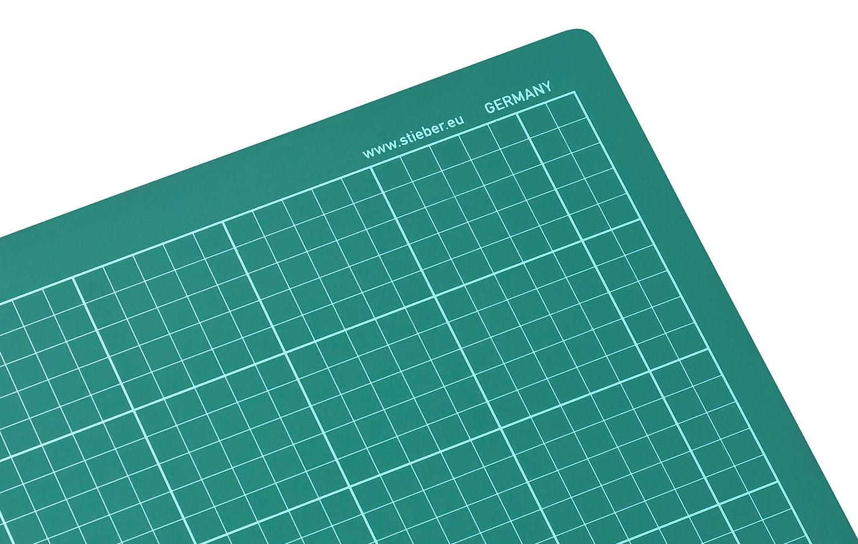 formato A2 circa 60 x 45 cm stieber/® Tappetino di taglio auto-rigenerante