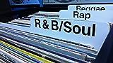 """1 R&B SOUL Printed Box Divider Card for 12"""" LP"""