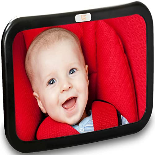 Backseat Baby Car Mirror Extra Large Ideal For Rear Facing Infant Seats
