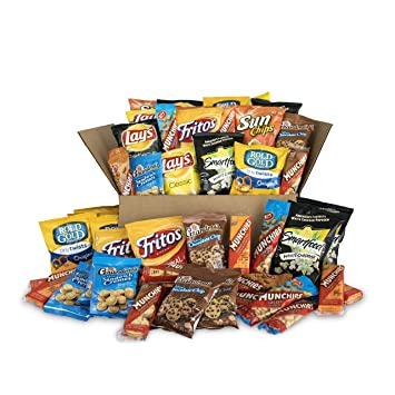 amazon com frito lay sweet salty snacks variety box bundle of