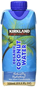 Kirkland Signature Organic Coconut Water 12 Count, 11.1 Ounce