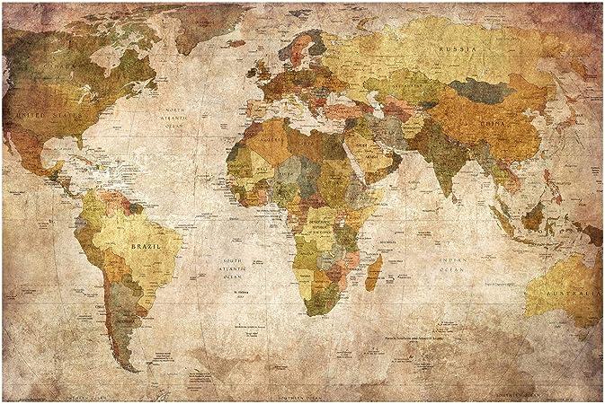 Photo papier peint non-tissé 0300034D13 Coloré Carte