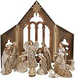 Presepe di Natale completo San Vittorio