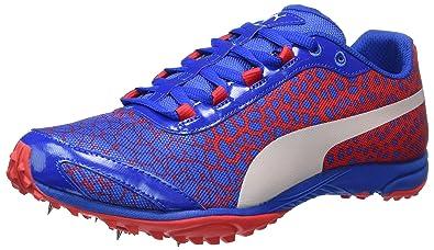 Puma Evospeed Haraka 4, Chaussures Multisport Outdoor Homme, Bleu (Lapis Blue-Toreador), 39 EU