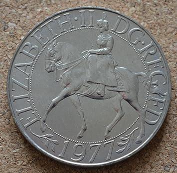 Coin Collector - Queen Elizabeth II Silver Jubilee Crown 1977 - Boxed