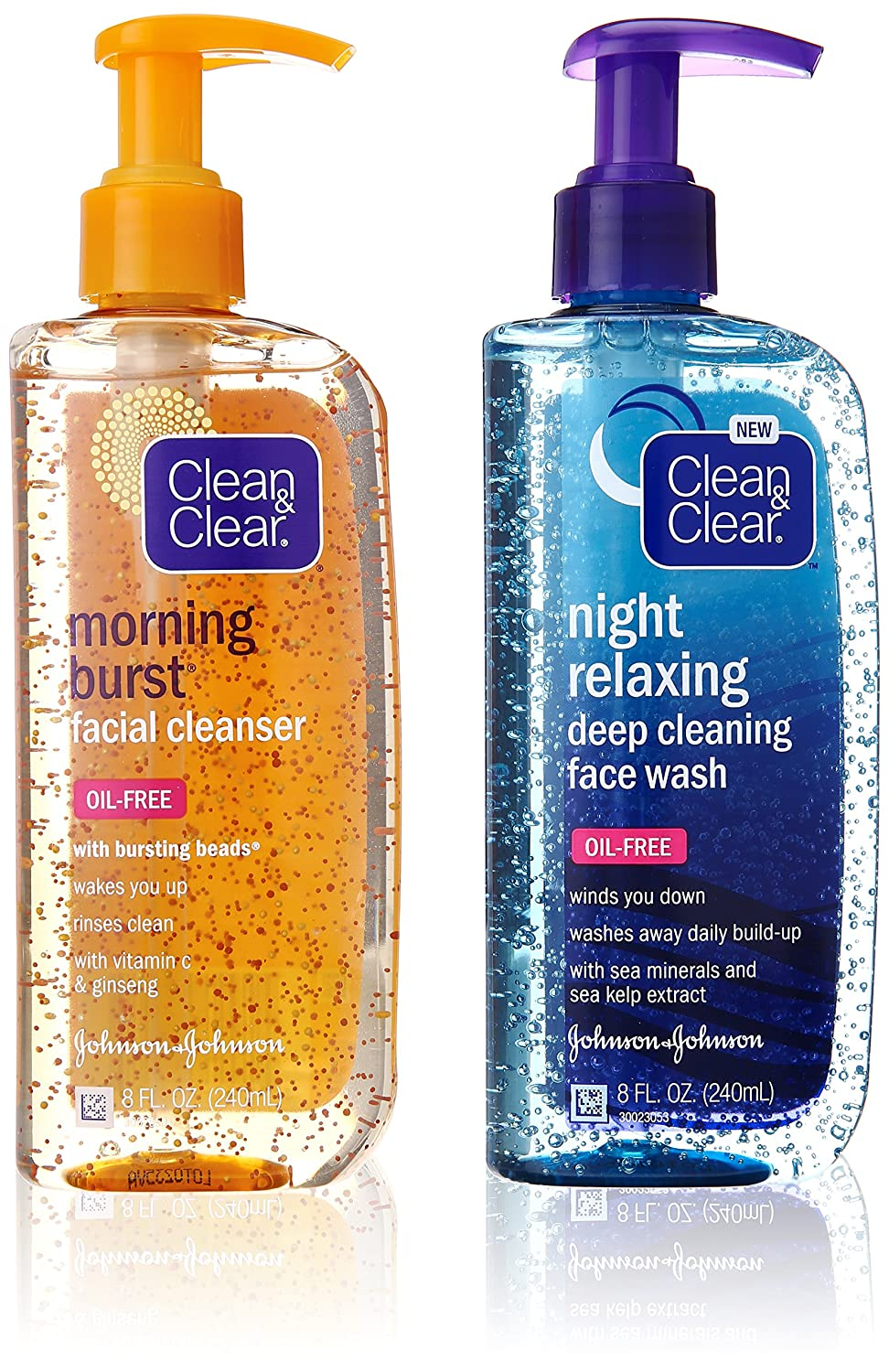 Clean & Clear Morning Burst, Day/Night Pack, 16 Ounce 381371161362