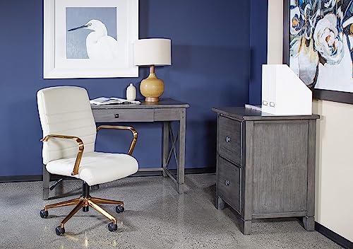 OSP Home Furnishings Hillsboro Writing Desk Grey Wash - a good cheap home office desk