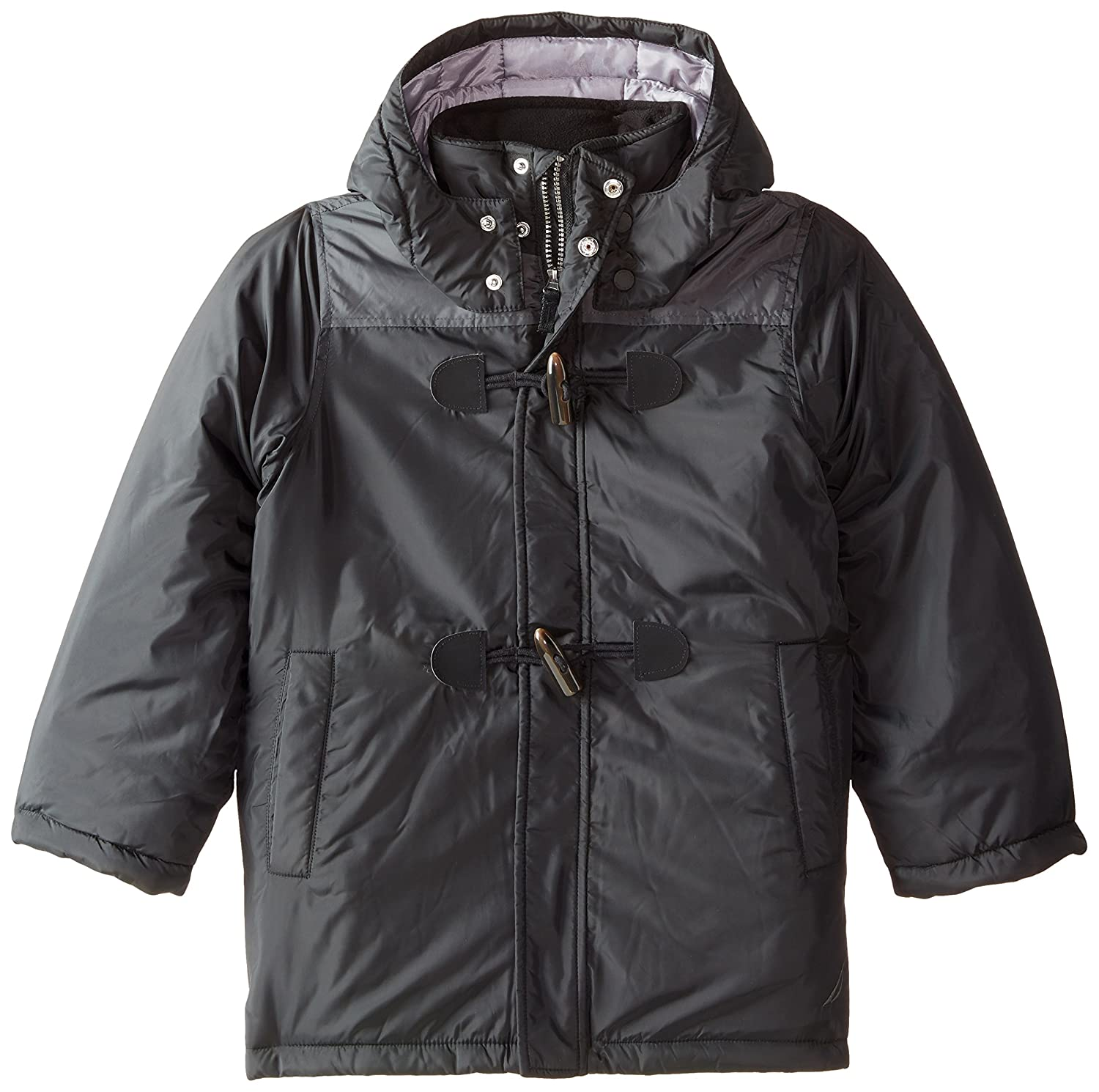 Nautica Boys' Toggle Closure Hooded Coat N829006Q