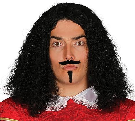 Guirca Peluca época con bigote y perilla en caja Talla única 4573.0