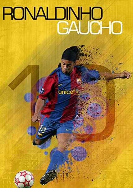 Ronaldinho Poster  Amazon.in  Home   Kitchen 4466fb2dd7f5c