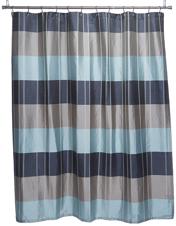 Amazon Croscill Fairfax Shower Curtain 72 By Inch Slate Home Kitchen