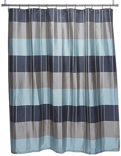 Amazon Croscill Fairfax Shower Curtain 72 By Inch Slate