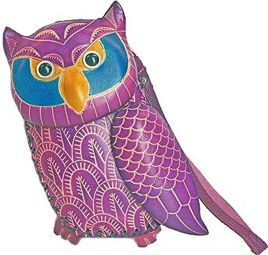 Anipals Purple Clutch Purse Purple Owl Jr Mr - Gifts for Women
