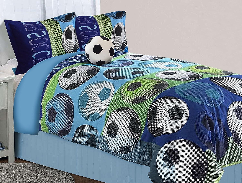 Chicos Niños Fútbol temática Dormitorio Oficial individual duvet cover quilt Set