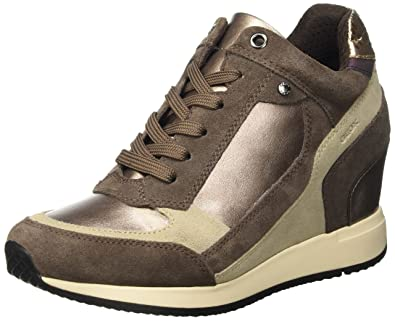 Damen D Nydame A High-Top, Braun (Lead/CHESTNUTC9H6J), 41 EU Geox