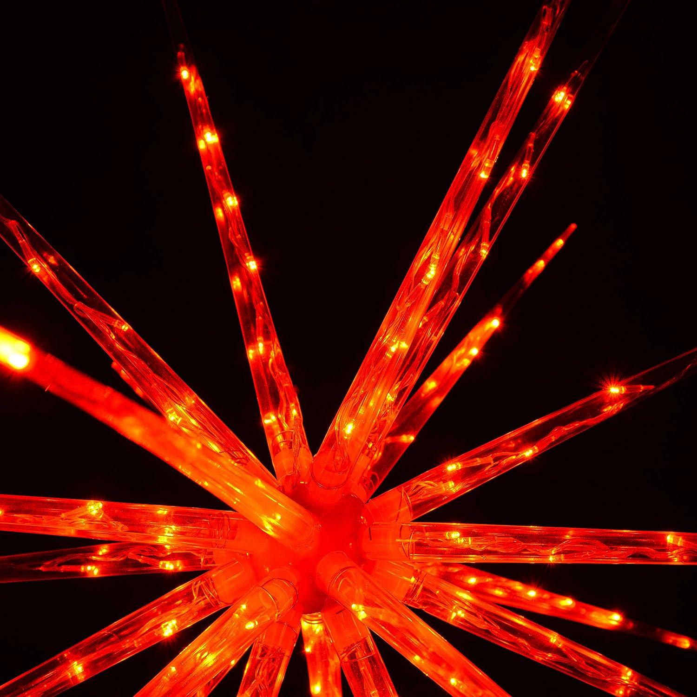 100 cm Blue//White WeRChristmas Multi-Functional 3D Exploding Star Burst Christmas Decoration Large