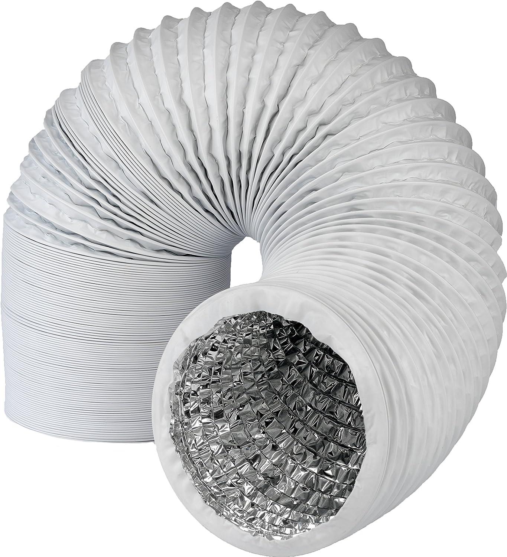6/m Secadora por ejemplo para aire acondicionado DANIPLUS Canalizado Manguera pvc flexible 150/mm de di/ámetro campana